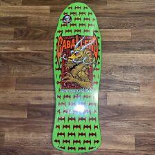 Powell Peralta Caballero Dragon And Bats Skateboard Deck Lime Green