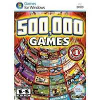 500,000 Games - CD-ROM - VERY GOOD