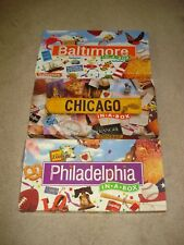 Baltimore, Chicago & Phiadelphia in a Box Board Games Late for the Sky Monopoly