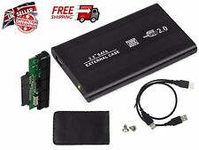 "Esterno 2.5"" HDD enclosure per disco rigido SATA USB CADILLAC nera Custodia per Laptop PC"