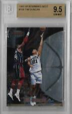 1997-98 Tim Duncan Bowman's Best RC... Graded BGS 9.5 Gem Mint w/10 sub