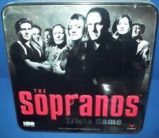 Hbo's The Sopranos Trivia Game in Tin New Nib by Cardinal Collector's Edition