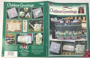 Folkart One Stroke Outdoor Greetings Donna Dewberry Painting PB 2004