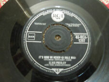 """Elvis Presley It's Now Or Never RARE 7"""" Single"""