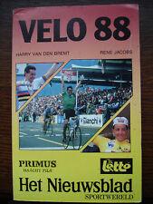 CYCLISME  VELO 1988