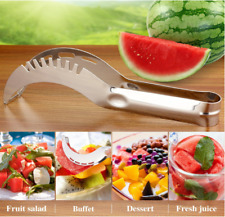 Watermelon Melon Slicer Server Knife Cutter Corer Scoop Stainless Steel Tools