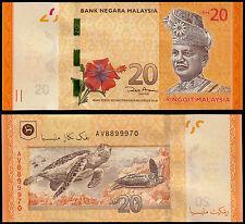 MALAYSIA 20 RINGGIT (P54) 2012 POLYMER UNC