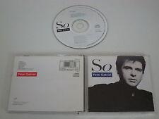 Peter Gabriel/così (Virgin-PGCD 5) CD Album