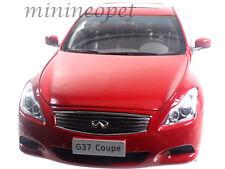 PAUDI 5502 2012 12 INFINITI G37 COUPE 1/18 DIECAST RED