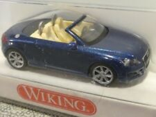 1/87 Wiking AUDI TT ROADSTER Scuro Blu Metallizzato 134 40 B
