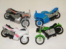 (4) MATTEL 1988 ANCO FRICTION MOTORCYCLES: BMW, HONDA, HARLEY DAVIDSON, SUZUKI