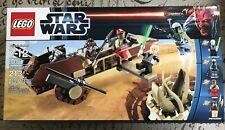 LEGO Star Wars 9496 Desert Skiff 4 Minifigures New Sealed Boba Fett