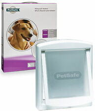 Staywell PetSafe 740 Medium Dog Flap Pet Door White 2 Way Locking