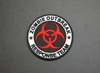3D PVC GITD Zombie Outbreak Response Team Biohazard Original Glow Patch Hook