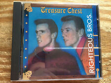 The Righteous Brothers - Treasure Chest Import (CD, 1988, PolyGram) Tested!