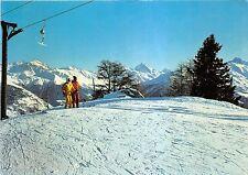 BG18061 sur les pistes de ski thyon les collons dent blanche   switzerland