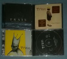 Lot of 3 Train CDs: My Private Nation, Drops of Jupiter, Train