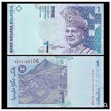 Malaysia RM1 11th Series Zeti Paper (UNC) 马来西亚 2000版 1 令吉