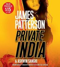 Private India : City on Fire by James Patterson and Ashwin Sanghi (2014, CD, Una