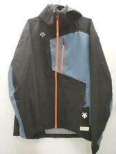 Descente Rage 3L Shell Men Snow Ski Jacket Black Orange 3XL NEW