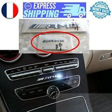 OEM NEU Klein Logo AMG 70x7mm Chrom Mercedes