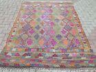 Vintage Turkish Kilim Rugs  Kelim  Teppich  Carpet  Tapi 67 X89  Area Rug Carpet
