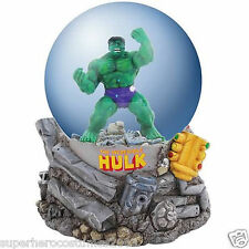 The Avengers The Incredible Hulk Water Globe 100Mm Marvel Comics Brand New 22901