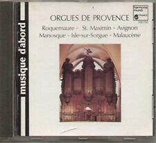 Orgues de Provence (Harmonia Mundi France, 1971/74/87) Francis Chapelet, .. [CD]