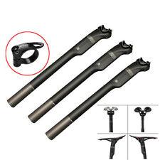 Nuovo Fibra di Carbonio Reggisella Bicicletta Sella Tubo 27.2/30.8/31.6mm
