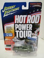 Johnny Lightning Hot Rod Power Tour- 1969 Dodge Coronet Super Bee - Green (B)