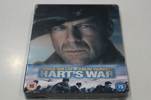 """Brand New"" Hart's War Steelbook Bluray - Region B"