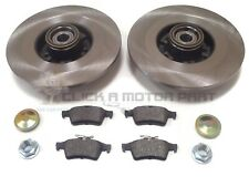 RENAULT GRAND ESPACE 2003-2012 REAR BRAKE DISCS & PADS WHEEL BEARINGS ABS RINGS