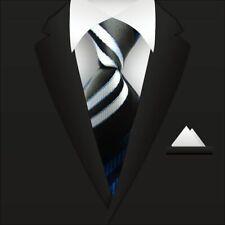 Mens Ties Silk Neckties Striped Neck Ties Business Formal WOVEN Tie Necktie A019