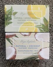Sugar Soap Works Plant Based & Vegan Scented Soaps Oatmeal Coconut Lemon Verbena