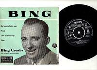 """BING CROSBY.BING.UK ORIG 7"""" EP & PIC/SL.EX/EX"""