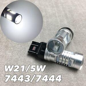 Front Signal Parking Light 6K White CANBUS LED Bulb T20 7443 7444 SRCK W1 JAE