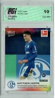 Matthew Hoppe 2020 Topps Now #86 Only 9,998 Made Rookie Card PGI 10