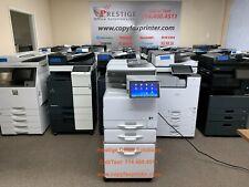 Ricoh Mp C407 Color Copier Printer Scanner Super Low Meter Count Only 12k