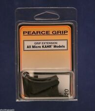Pearce Grip Extension Fits  All Micro KAHR 2-Pack PG-MK9  New In Package PG-MK9