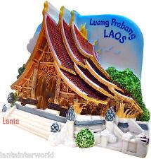 Luang Prabang Laos Lao Wat Temple Xieng Refrigerator 3D Fridge Magnet