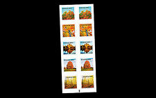 Sweden 2016   Autum Glow trees  booklet          mnh/postfris us