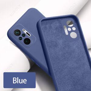 For Xiaomi Redmi Note 10 9 8 Pro 9T 8T Mi 11 10T Lite Liquid Silicone Case Cover