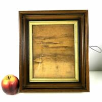 Antique Victorian Picture Frame Mahogany Gold