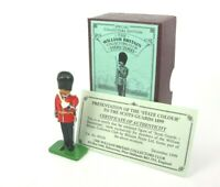 Britains Toy Soldiers 1999 Special Collectors Edition Scots Guard Bandmaster