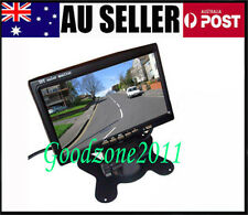 "7"" TFT LCD Car Rearview Monitor 2CH Video input For DVD & Reversing Camera"