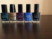 AVON  LOTTO STOCK 5 SMALTI - MAKE UP NAILPOLISH VARNISH TRUCCHI COSMETICI