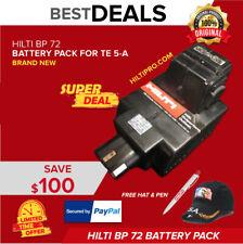 Hilti Bp 72 For Hilti Te 5 A Brand New Free Hat Pen Fast Ship
