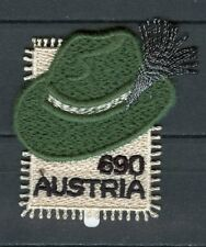 Austria 2018 MNH Styrian Hat Steirerhut 1v Embroidered Stamp Cultures Stamps