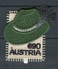 Austria 2018 MNH Styrian Hat Steirerhut 1v Embroidered Stamp Cultures Stamps