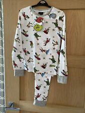 George At Asda Grinch Pyjamas PJs Age 10-11 Years Recorded Christmas LAST PAIR